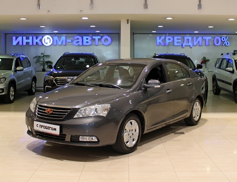 Geely Emgrand EC7 <br />1.5 MT (98 л.с.)