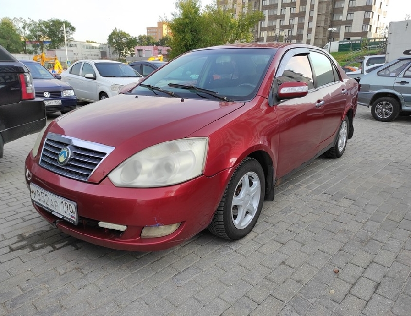 Geely FC (Vision) <br />1.8 MT (133 л.с.)