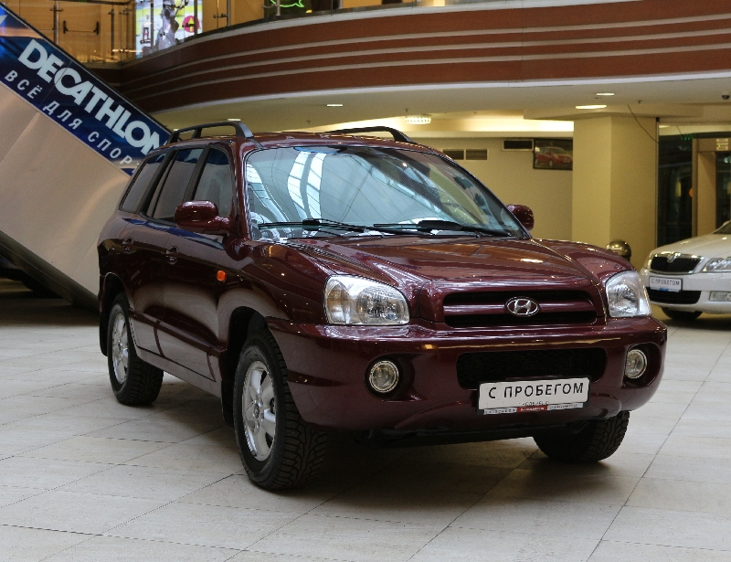 Hyundai Santa Fe <br />2.7 AT (189 л.с.) 4WD