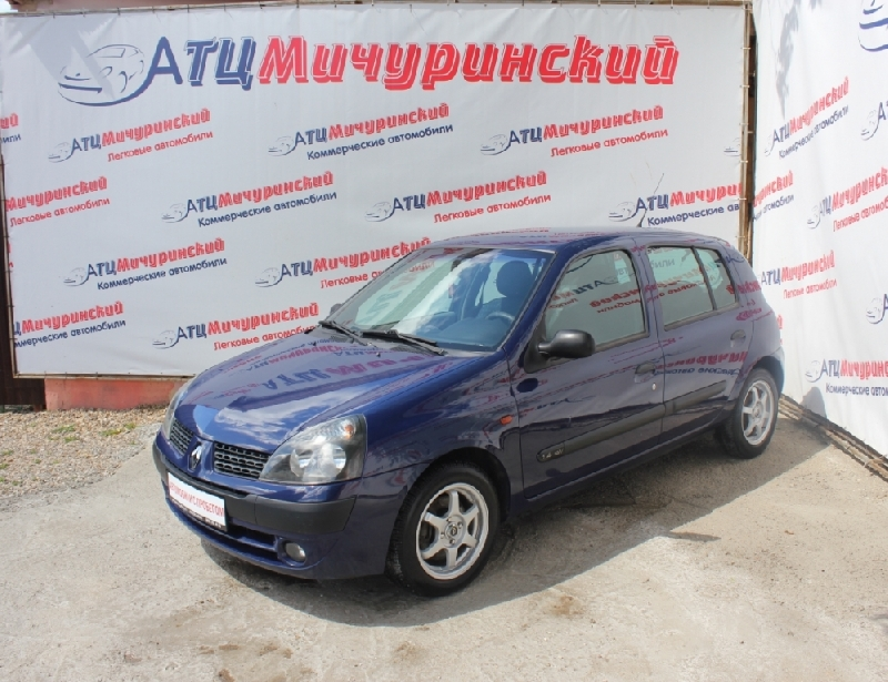 Renault Clio <br />1.4 AT (98 л.с.)