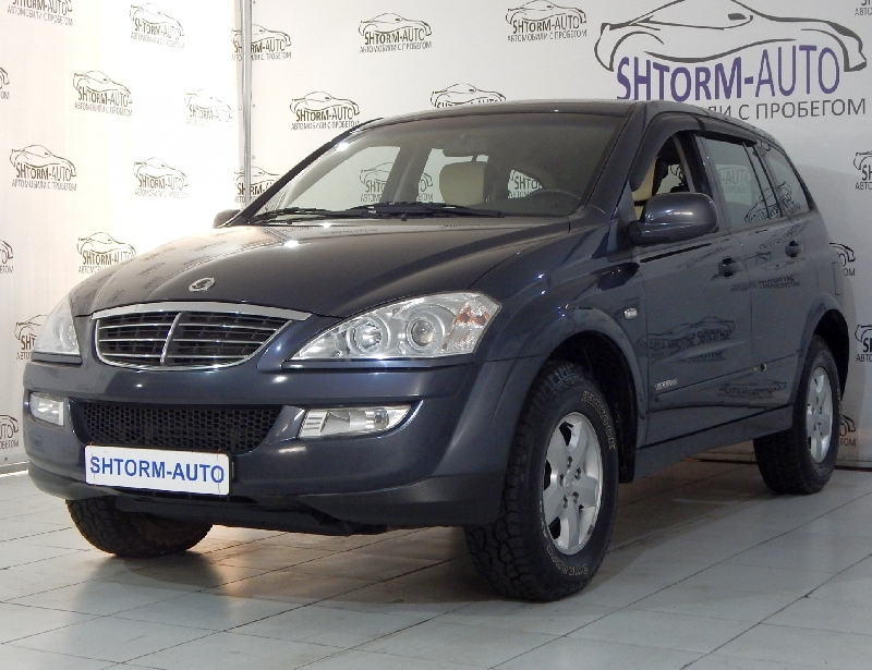 SsangYong Kyron <br />2.0d MT (141 л.с.) 4WD