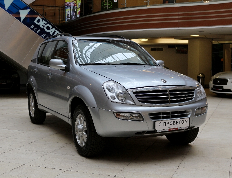 SsangYong Rexton <br />2.3 MT (140 л.с.) 4WD
