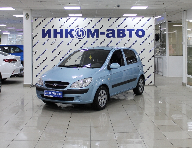 Hyundai Getz <br />1.4 AT (97 л.с.)