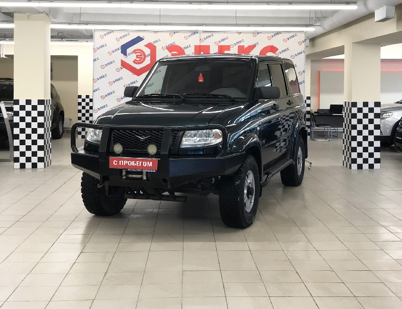 УАЗ Patriot <br />2.7 MT (128 л.с.) 4WD